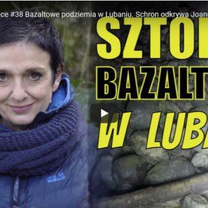 Bazaltowe podziemia w Lubaniu. Schron odkrywa Joanna Lamparska
