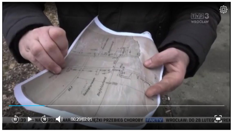 Podziemia Kamiennej Góry w Lubaniu w Faktach TVP3 Wrocław