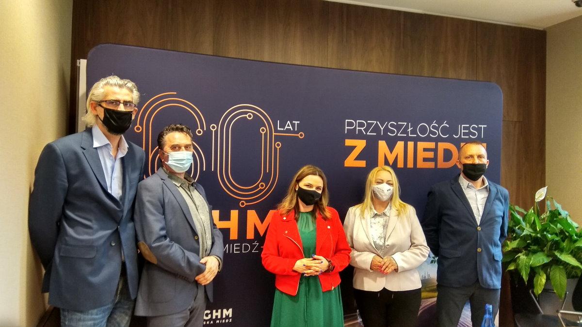 Spotkanie z przedstawicielami KGHM Polska Miedź S.A.