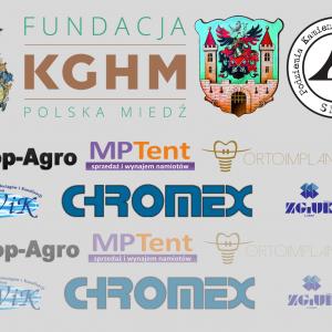 """Partnerzy i darczyńcy, wspierający projekt """"Podziemia Kamiennej Góry w Lubaniu"""""""