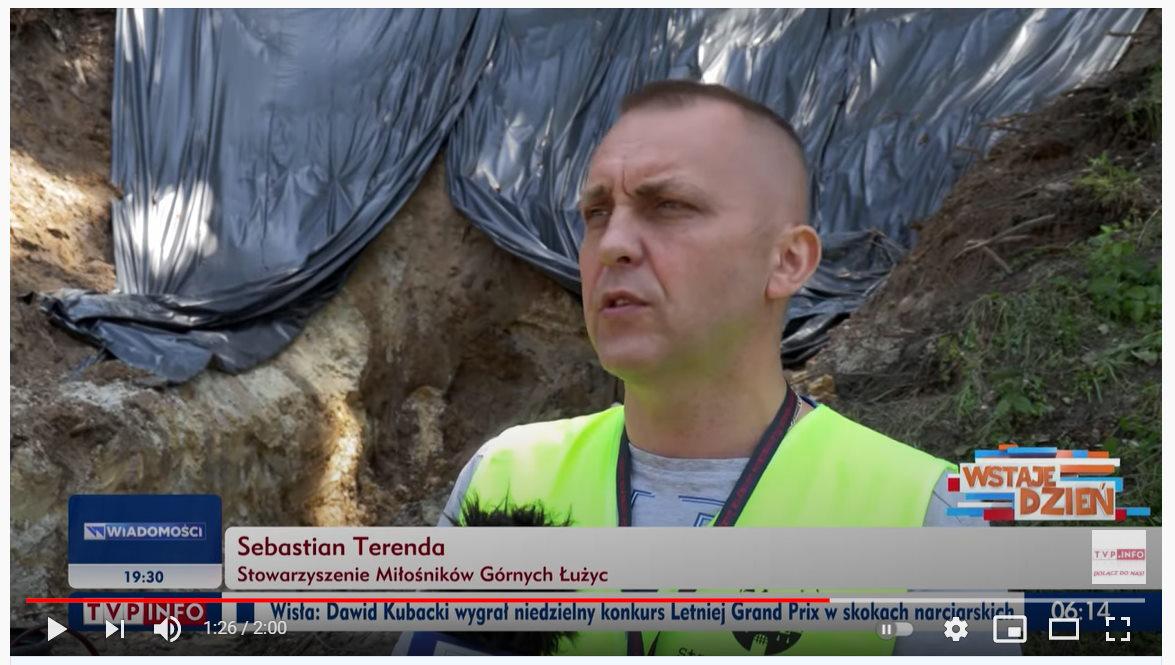 Podziemia Kamiennej Góry w Lubaniu w TVP