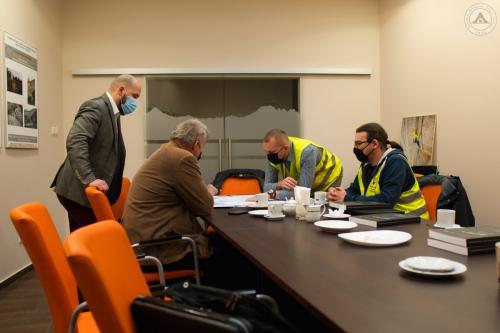 Spotkanie z przedstawicielami Zakładu Robót Górniczych i Wysokościowych AMC